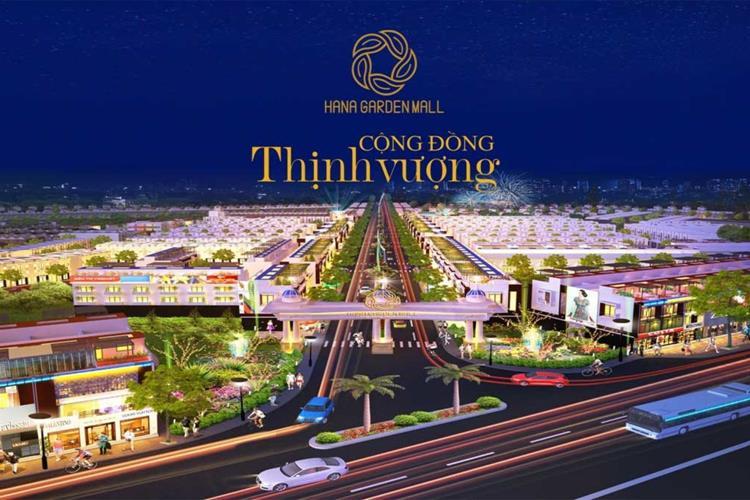 Phối cảnh dự án Hana Garden Mall Bình Dương