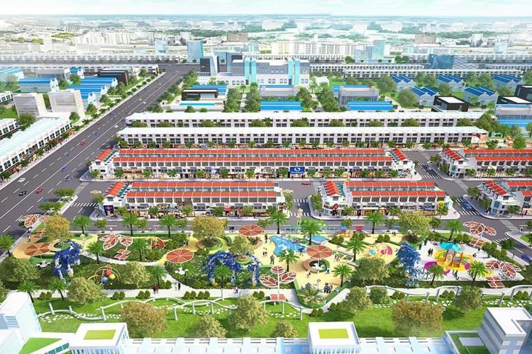 Công viên trung tâm dự án Casa Mall