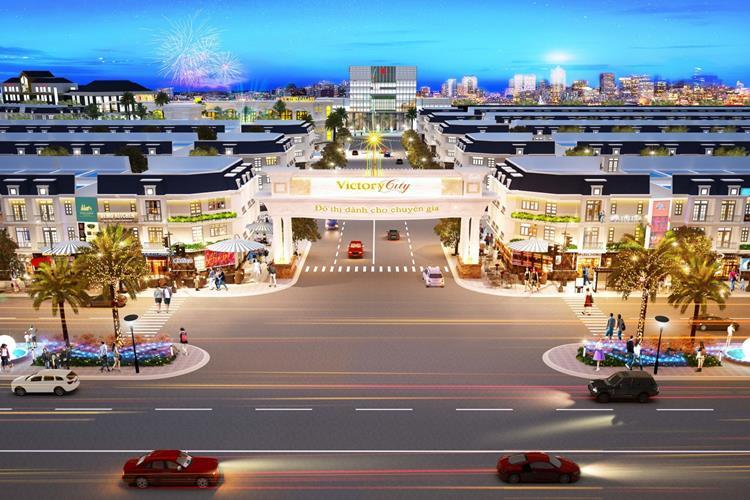 Phối cảnh cổng chính Khu đô thị Victory City Bình Dương