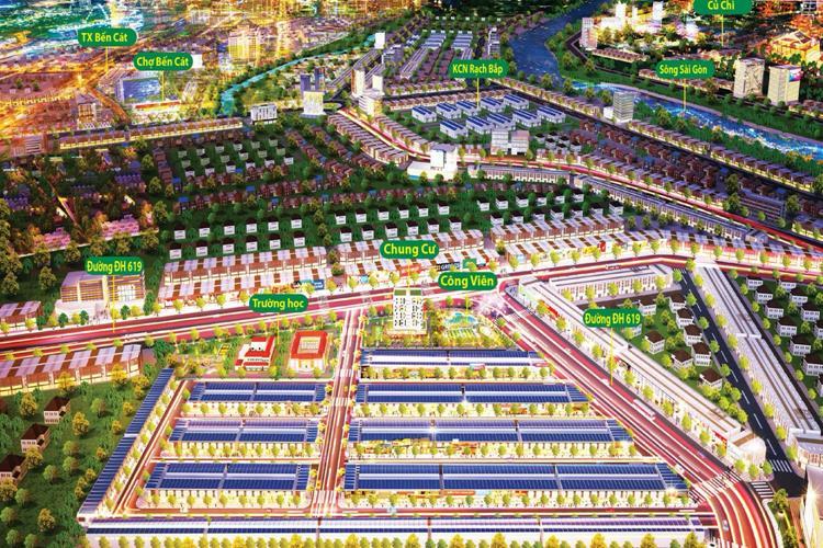 Phân khu chức năng dự án The Eden City