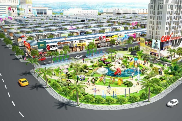 Công viên dự án The Eden City Bình Dương