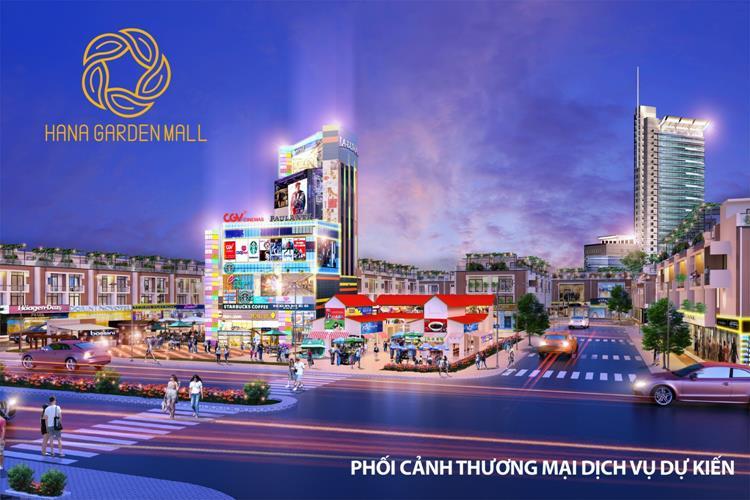 Trung tâm thương mại dự án Hana Garden Mall