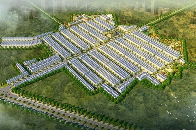 Tổng thể dự án Hana Garden Mall Bình Dương