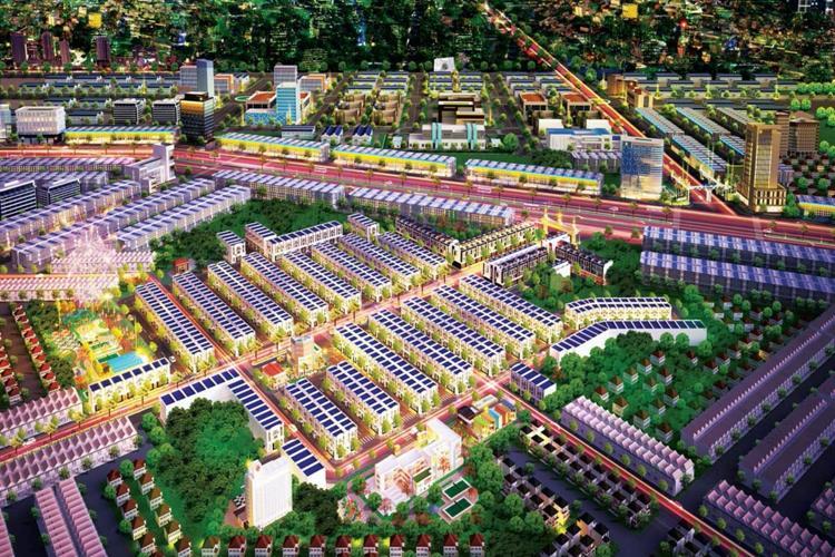 Mặt bằng tổng thể dự án Hana Garden Mall Bình Dương