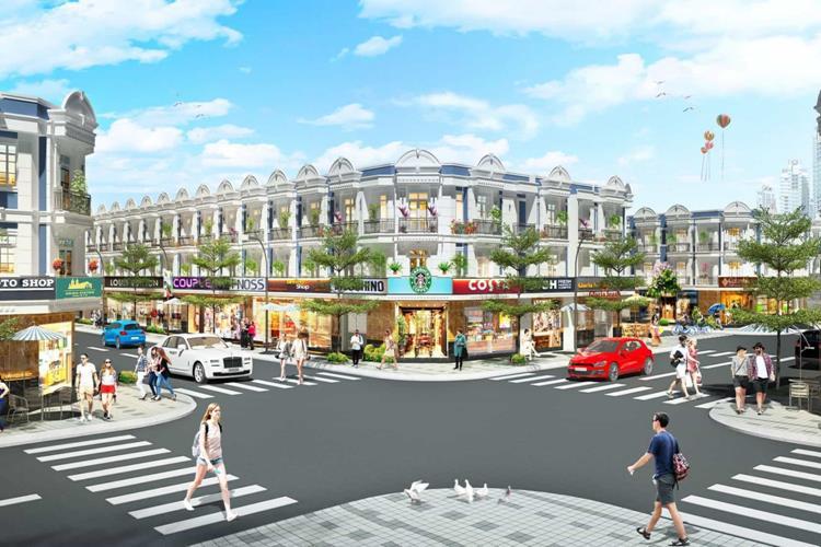 Trung tâm thương mại nội khu dự án Uni Mall Center