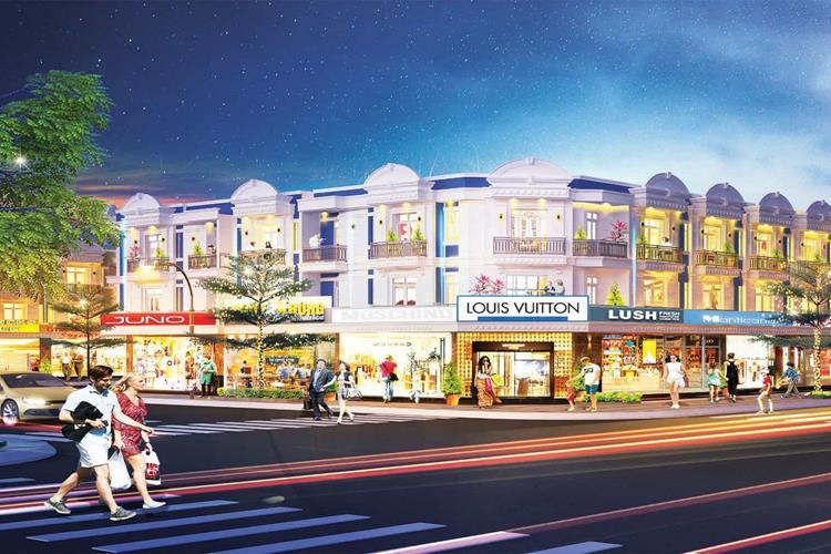 Uni Mall Center với ưu thế khi toạ lạc tại trung tâm thành phố Thuận An