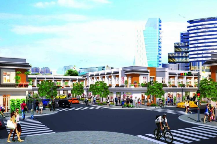 Trung tâm thương mại nội khu sầm uất của dự án Hài Mỹ New City