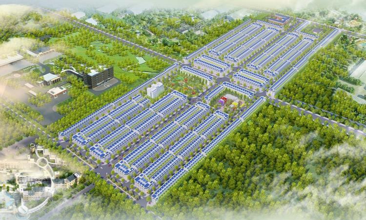 Mặt bằng tổng thể dự án Thăng Long Central City