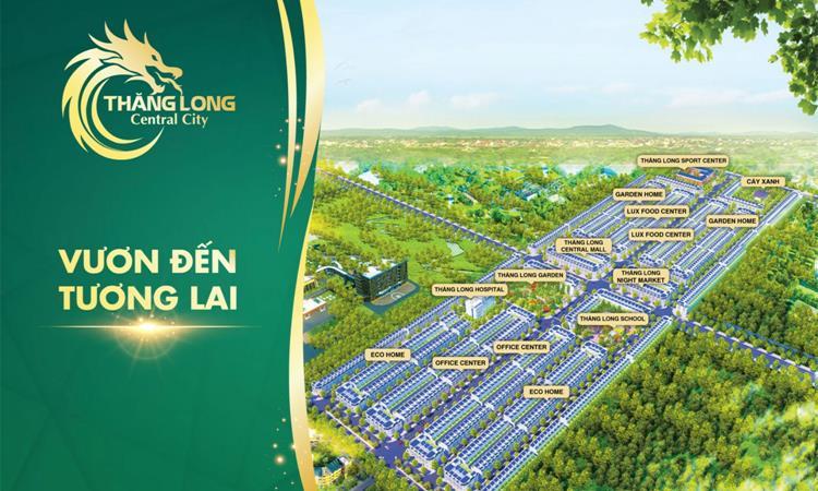Thăng Long Central City mở bán giai đoạn 1 với 200 sản phẩm