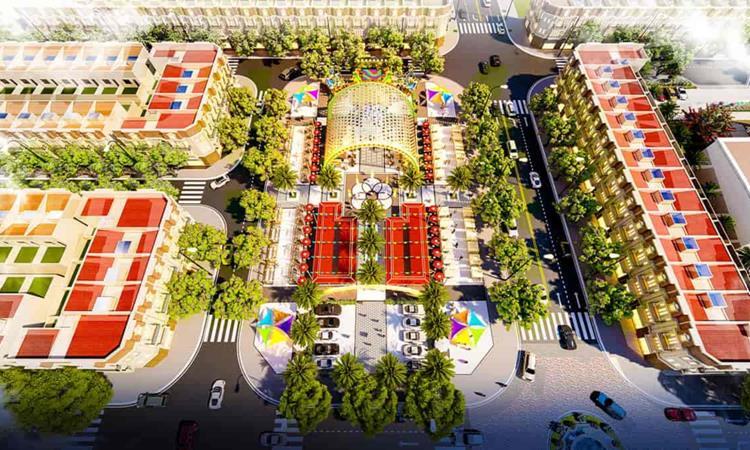 Công viên nội khu được quy hoạch bài bản